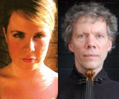Rose Armbrust, viola - Mathias Tacke, violin