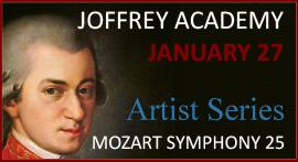 Mozart Symphony No. 25 Tickets
