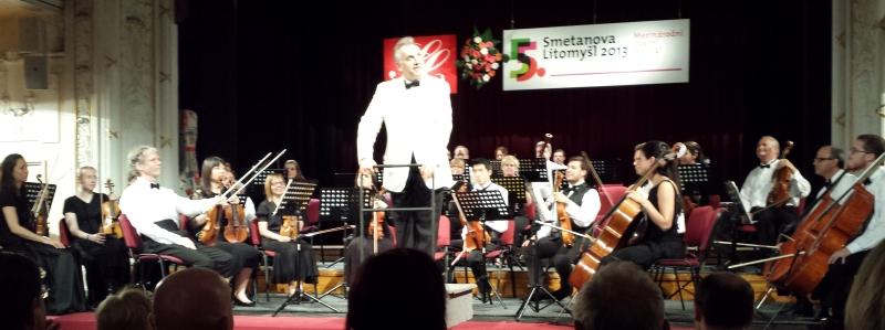Camerata Chicago's concert at Smetanova Litomyšl, June 15. By Ariane Hall.