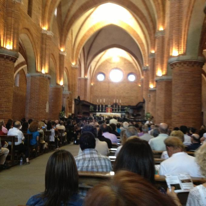 Concert for the Festival Ultrapadum at Abbazia di Morimondo, Milan, Italy on June 23. By Maurizio F.