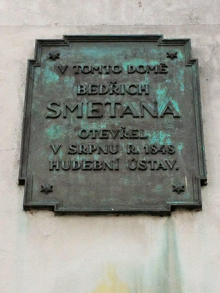 Smetana Plaque. By Aurelien Petillot