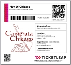 Buy tickets for the May Series. To receive a coupon code, just sign up to our newsletter (below)